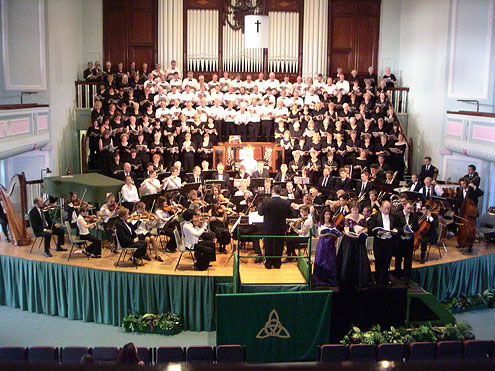 'Concert of Reconciliation' am 2. Juli 2005 in Coventry, England